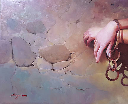 Prisoner of her own wishes by Jose Higuera