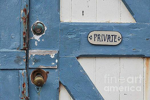 Private by Ana V Ramirez