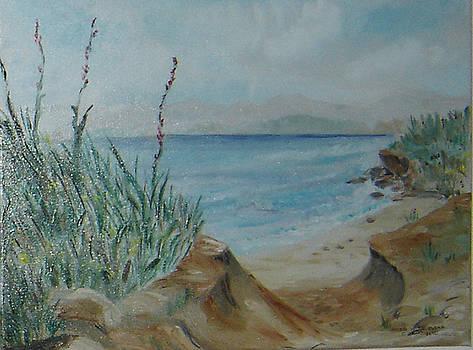Private beach by Anna Witkowska