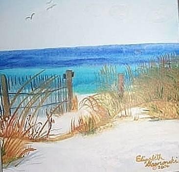 Private Beach by Elizabeth A Gawronski