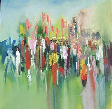 Procession by Prabhu  Dhok