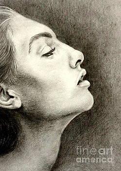 Profile of a Girl by Georgia's Art Brush