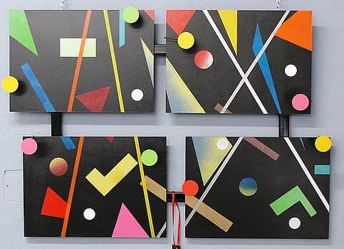 Progressiv Pop Art Msc 009 by Mario Sergio Calzi