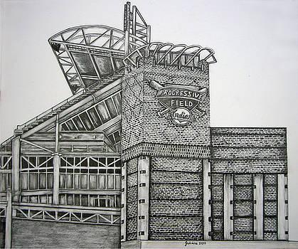 Progressive Field by Juliana Dube