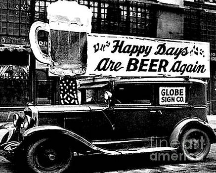 Peter Gumaer Ogden - Prohibition Happy Days are Beer Again
