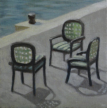 Promenade Chairs by Amy Tennant