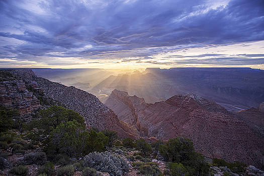 Navajo Point Sunset by Mike Buchheit