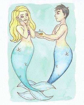 Propose Mermaid Couple - MerMay 18 by Armando Elizondo