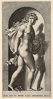 Giovanni Jacopo Caraglio - Proserpina