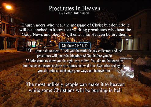 Prostitutes In Heaven by Peter Hutchinson