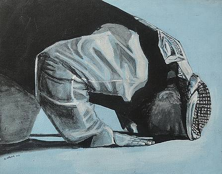 Prostration in Palestine by Salwa  Najm