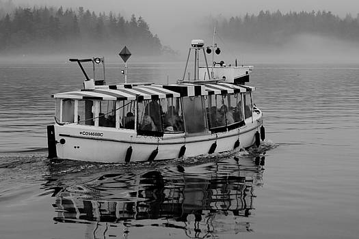 Protection Island Ferry by Colin Sands
