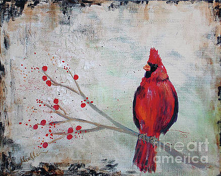 Protector - cardinal by Noelle Rollins