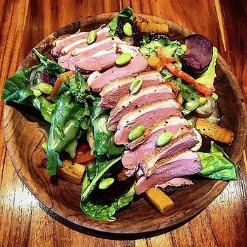 Protein And Veggies - Duck Breast Salad by Arya Swadharma