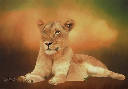 Proud Lioness by Kay Kochenderfer