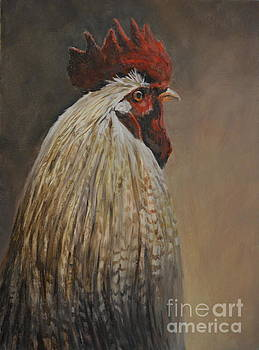 Proud Rooster by Charlotte Yealey