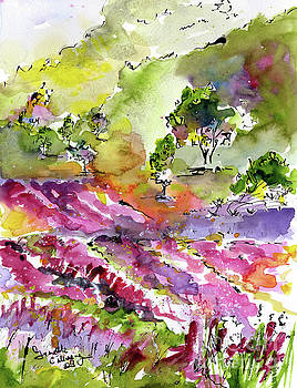 Ginette Callaway - Provence Countryside Lavender Fields