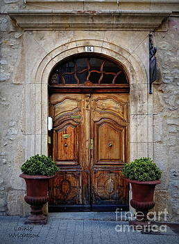 Provence Door 14 by Lainie Wrightson