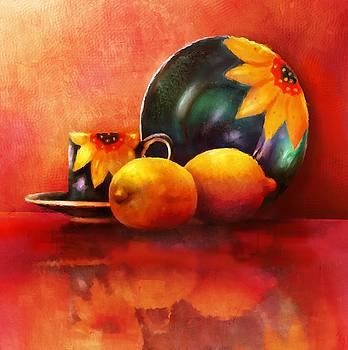 Provence Reflections by Ray Gilronan