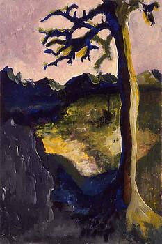 Provence tree by Pamela Canzano
