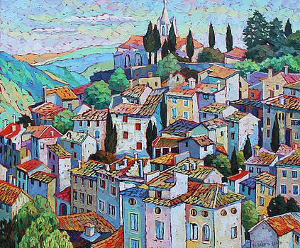 Provence View by Elizabeth Elkin