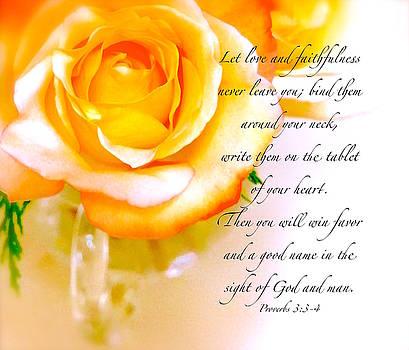 Proverbs 3 by Wonju Hulse