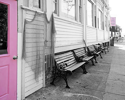 Provincetown, Cape Cod, in Pink by Brooke T Ryan