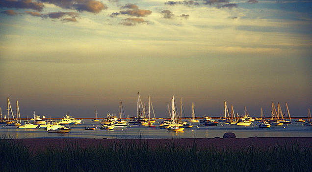 Provincetown Harbor at Dusk by Randi Shenkman