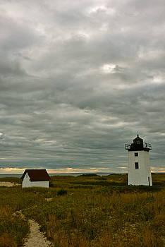Provincetown lighthouse by Steven Ottogalli