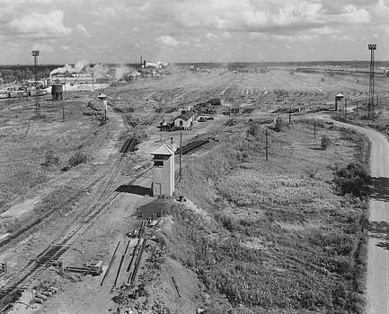 Chicago and North Western Historical Society - Proviso Train Yard Sits Idle During 1962 Strike