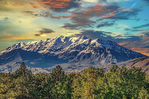 Provo Peaks by Gaylon Yancy