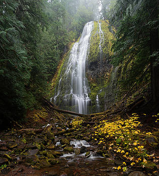 Proxy Falls in Autumn by Brian Bonham