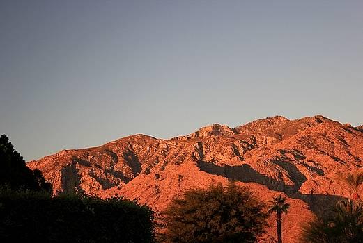 San Jacinto Sunset by Leigh Meredith