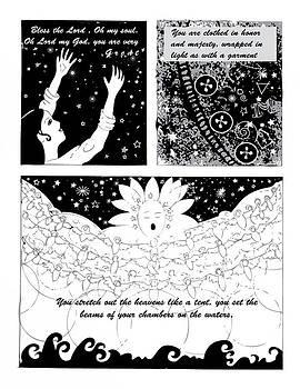 Anne Cameron Cutri - Psalm 104 Comic page 1