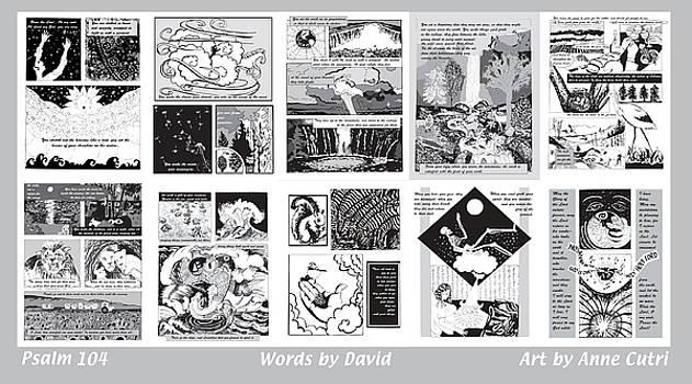 Anne Cameron Cutri - Psalm 104 in Comic Style