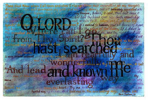 Psalm 139 by Kevyn Bashore