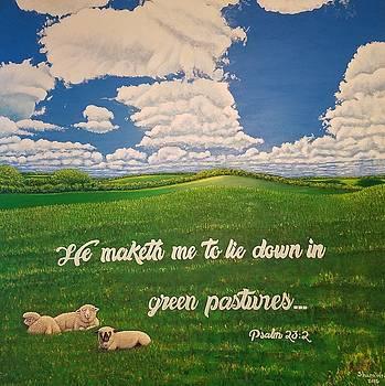 Psalm 23 by Shara Wright