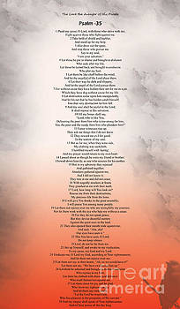 Psalm 35 by Trilby Cole