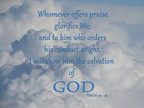 Psalm 50-23 by Art By ONYX