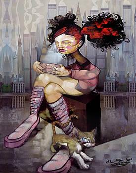 PSP Girl by Adam Strange