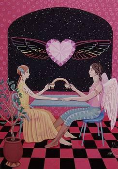 Psyche and Eros by Karen MacKenzie