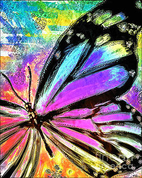 Psychedelic Butterfly by Tina LeCour