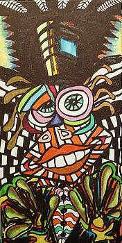 Psychedelic Clown by Gayland Morris