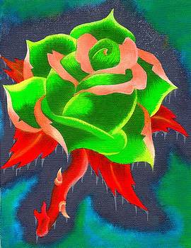 Psychedelic Rose by Landon Clary