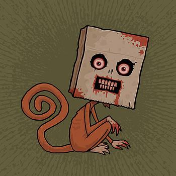 Psycho Sack Monkey by John Schwegel
