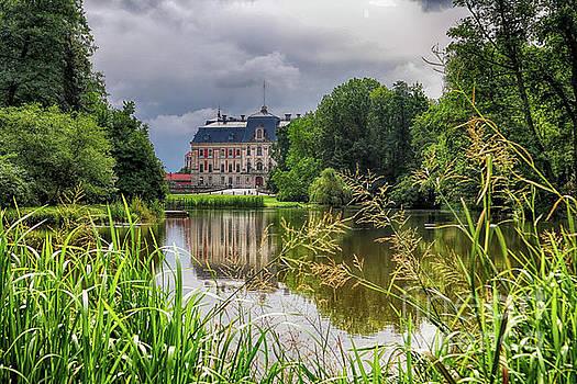 Pszczyna Castle by Mariola Bitner
