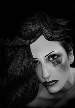 PTSD Overload - Self Portrait by Jaeda DeWalt