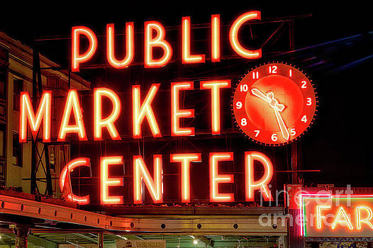 Public Market Center, Seattle by Jerry Fornarotto