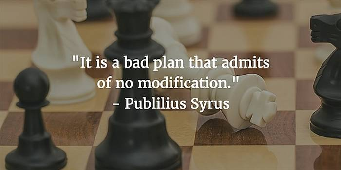 Publilius Syrus Quote by Matt Create