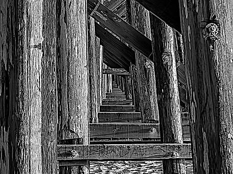 Pudding Creek Bridge  by Bill Gallagher